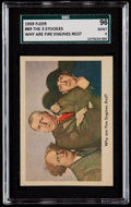 "Non-Sport Cards:Singles (Post-1950), 1959 Fleer Three Stooges ""Why Are Fire Engines Red?"" #89 SGC 96Mint 9 - None Higher...."