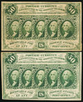 Fractional Currency:First Issue, Fr. 1312 50¢ First Issue VF;. Fr. 1313 50¢ First Issue Fine.. ... (Total: 2 notes)