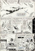 Original Comic Art:Panel Pages, John Romita Sr. and Frank Giacoia Daredevil #18 Story Page 8Original Art (Marvel, 1966)....