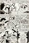 Original Comic Art:Panel Pages, Bill Everett Strange Tales #151 Story Page 8 Doctor StrangeOriginal Art (Marvel, 1966)....