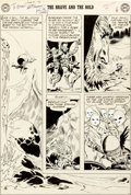 Original Comic Art:Panel Pages, Joe Kubert Brave and the Bold #18 Story Page 6 Viking PrinceOriginal Art (DC, 1958)....