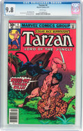 Bronze Age (1970-1979):Adventure, Tarzan #4 (Marvel, 1977) CGC NM/MT 9.8 White pages....