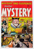 Golden Age (1938-1955):Horror, Mister Mystery #19 (Aragon, 1954) Condition: VG+....
