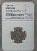 Early Dimes, 1800 10C JR-2, R.5 -- Repaired, Cleaned -- NGC Details. XF....