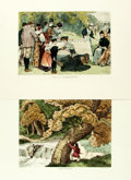 Prints:Contemporary, Group of Approximately Fifty Prints and Newspaper Illustrations[and:] Christmas Issue of The Ladies' Home Journal...