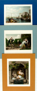 Prints:Contemporary, Group of Approximately 300 Miscellaneous Views and Panoramas. Circa1900. Various sizes, the largest measuring approximately...
