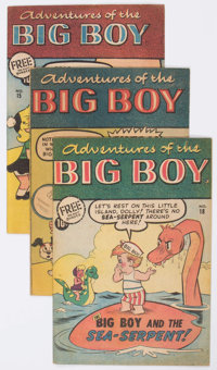 Adventures of Big Boy Group of 68 (Webs Corp., 1950s-mid-60s) Condition: Average VG/FN.... (Total: 68 Comic Books)