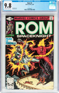 Modern Age (1980-Present):Science Fiction, Rom #4 (Marvel, 1980) CGC NM/MT 9.8 Off-white to white pages....