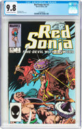 Modern Age (1980-Present):Miscellaneous, Red Sonja V3#7 (Marvel, 1985) CGC NM/MT 9.8 Off-white to white pages....