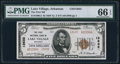 National Bank Notes:Arkansas, Lake Village, AR - $5 1929 Ty. 2 The First NB Ch. # 13632. ...
