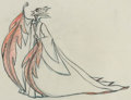 Animation Art:Production Drawing, Sleeping Beauty Maleficent Pan Animation Drawing (WaltDisney, 1959)....