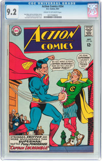 Action Comics #354 (DC, 1967) CGC NM- 9.2 Cream to off-white pages