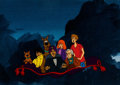 Animation Art:Production Cel, The 13 Ghosts of Scooby-Doo Production Cel (Hanna-Barbera,1985)....
