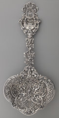 Silver Flatware, American:Tiffany, A Tiffany & Co. Silver Saratoga Chip Server, New York, NewYork, circa 1891-1902. Marks: TIFFANY & CO., T, STERLINGSILVER...