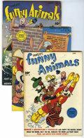 "Golden Age (1938-1955):Funny Animal, Fawcett's Funny Animals #39-49 Group - Davis Crippen (""D Copy"")pedigree (Fawcett, 1946-47).... (Total: 11)"