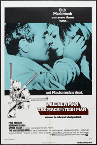 "The Mackintosh Man (Warner Brothers, 1973). One Sheet (27"" X 41""). Thriller. Starring Paul Newman, Dominique S..."