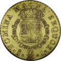Chile: , Chile: Ferdinand VI gold 8 Escudos 1751-J, KM3, MS61 NGC, a boldlystruck example with abundant original mint luster, numerous smal...