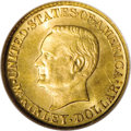 Commemorative Gold: , 1916 G$1 McKinley MS66 NGC. This original peach-gold Premium Gem isneedle-sharp save for a hint of softness at 9 o'clock o...