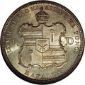 Coins of Hawaii: , 1883 50C Hawaii Half Dollar MS63 NGC. Extremely lustrous withdelicate golden accents that are a bit more noticeable on the...