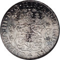 Mexico: , Mexico: Charles III 8 Reales 1767-Mo MF, KM-105, MS62 NGC, fairlybright luster, strike sharper than normal (the globes are crispbu...