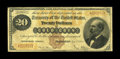 Large Size:Gold Certificates, Fr. 1174 $20 1882 Gold Certificate About Fine. This new discoverybrings the total of known notes for this friedberg number ...
