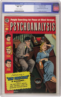 Golden Age (1938-1955):Horror, Psychoanalysis #1 Gaines File pedigree 9/12 (EC, 1955) CGC NM+ 9.6Off-white to white pages....