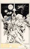 Original Comic Art:Splash Pages, Tony DeZuniga Star Wars Weekly Pin-Up Original Art (Marvel UK, 1978)....
