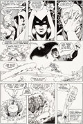 Original Comic Art:Panel Pages, George Perez and Romeo Tanghal New Teen Titans #21 Page 4Original Art (DC, 1982)....