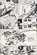 Original Comic Art:Panel Pages, Barry Smith and Herb Trimpe Machine Man #2 Page 2 OriginalArt (Marvel, 1984)....