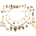 Estate Jewelry:Lots, Multi-Stone, Seed Pearl, Enamel, Glass, Gold, Base Metal Jewelry.... (Total: 27 Items)