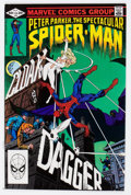 Modern Age (1980-Present):Superhero, Spectacular Spider-Man #64 (Marvel, 1982) Condition: NM-....
