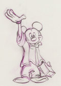 Animation Art:Production Drawing, Mickey's 60th Birthday Series of Animation Drawings (WaltDisney, 1988).... (Total: 3 )
