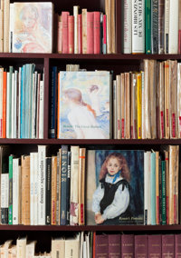 Renoir Family Reference Library Over one hundred eighty 19th and 20th century titles, some with bookplates, from t