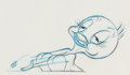 Animation Art:Production Drawing, Who Framed Roger Rabbit? Animation Drawing Group (WaltDisney, 1988)....