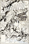 Original Comic Art:Covers, Keith Pollard Daredevil #235 Original Cover Art (Marvel,1986)....