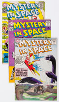 Silver Age (1956-1969):Science Fiction, Mystery in Space Group of 8 (DC, 1961-67) Condition: Average VG/FN.... (Total: 8 Comic Books)