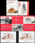 "Movie Posters:James Bond, Thunderball & Others Lot (United Artists, 1965). Programs (3) (Multiple Pages, 8.5"" X 11"") & Robert McGinnis Art Print (8.25... (Total: 4 Items)"