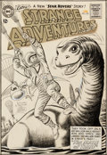 Original Comic Art:Covers, Murphy Anderson Strange Adventures #159 Cover Original Art(DC, 1963)....