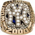 Baseball Collectibles:Others, 2000 New York Yankees World Series Championship Ring....
