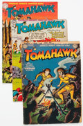 Silver Age (1956-1969):Adventure, Tomahawk Group of 5 (DC, 1950-69).... (Total: 5 Comic Books)