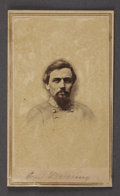 Military & Patriotic:Civil War, CDV CONFEDERATE ARMY OFFICER JAMES DEARING CIRCA 1860S....