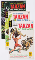 Bronze Age (1970-1979):Miscellaneous, Tarzan Group of 26 (Gold Key, 1969-72) Condition: Average FN/VF....(Total: 26 Comic Books)
