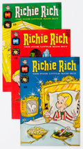 Silver Age (1956-1969):Humor, Richie Rich File Copies Group of 64 (Harvey, 1968-82) Condition: Average NM-.... (Total: 64 Comic Books)