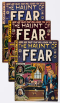Golden Age (1938-1955):Horror, Haunt of Fear Group of 8 (EC, 1952-53) Condition: Average GD....(Total: 8 Comic Books)