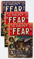 Golden Age (1938-1955):Horror, Haunt of Fear Group of 4 (EC, 1952-53) Condition: Average VG....(Total: 4 Comic Books)