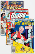 Modern Age (1980-Present):Miscellaneous, Comic Books - Assorted Modern Age Comics Box Lot (Various Publishers, 1980s) Condition: Average VF....