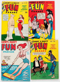 Magazines:Humor, Army and Navy Fun Parade Group of 103 (Fun Parade, 1950s) Condition: Average VF.... (Total: 103 Comic Books)
