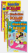 Bronze Age (1970-1979):Cartoon Character, Richie Rich and Dollar the Dog File Copies Box Lot (Harvey, 1976-81) Condition: Average NM-....