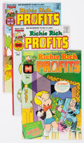 Bronze Age (1970-1979):Cartoon Character, Richie Rich Profits File Copies Box Lot (Harvey, 1974-82)Condition: Average NM-....