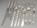 Silver & Vertu:Flatware, A One Hundred Forty-Two Piece Whiting Lily Pattern Silver Flatware Set, New York, New York, designed 1902. Marks... (Total: 142 Items)